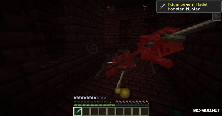 Better Wither Skeletons mod for Minecraft (5)