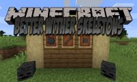 Better Wither Skeletons mod for Minecraft logo