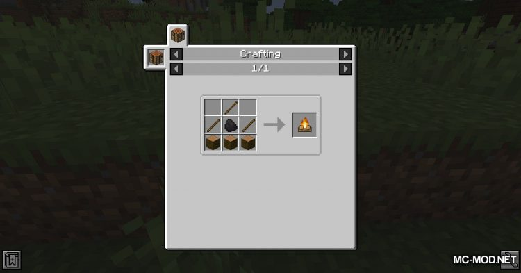 Campfire Torches mod for Minecraft (4)