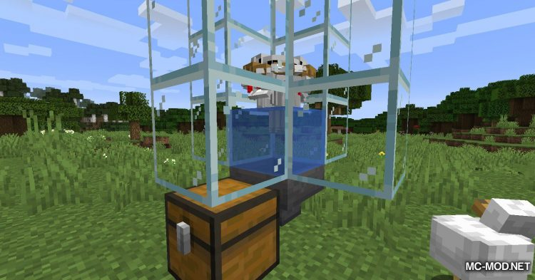 Chicken Feathers mod for Minecraft (8)