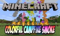 Colorful Campfire Smoke mod for Minecraft logo