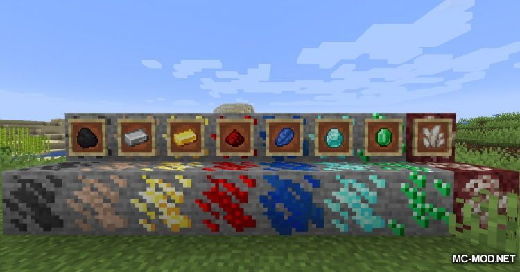 Compact Ores mod for Minecraft (14)