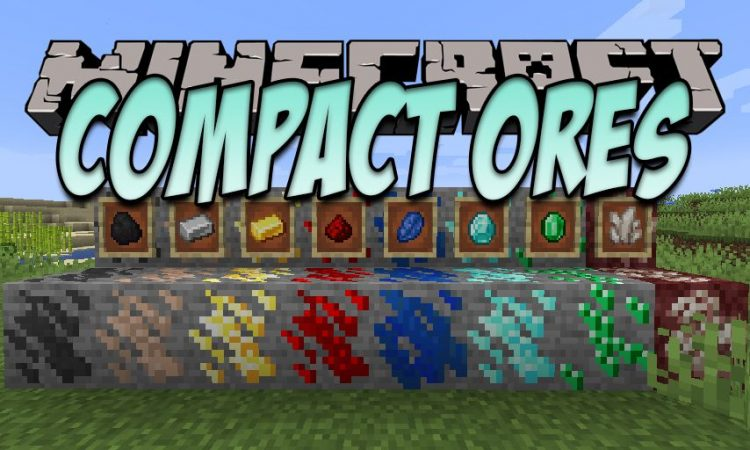 Compact Ores mod for Minecraft logo