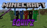 EquipZ mod for Minecraft logo