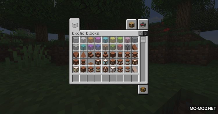 Exotic Blocks mod for Minecraft (17)
