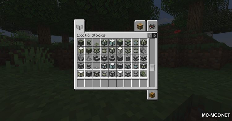 Exotic Blocks mod for Minecraft (18)