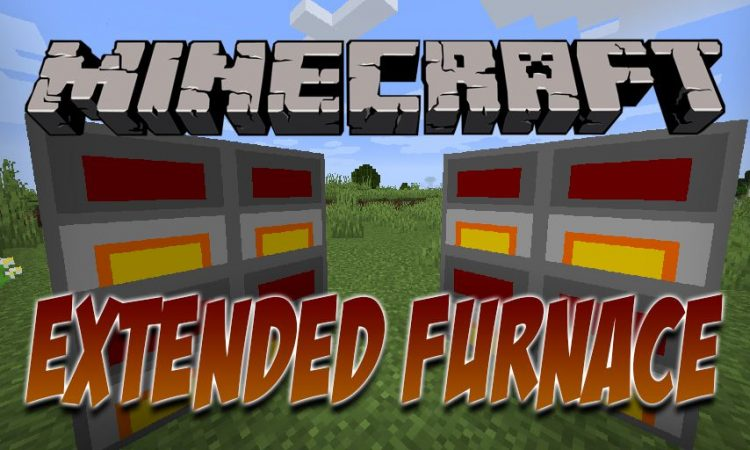 Extended Furnace mod for Minecraft logo
