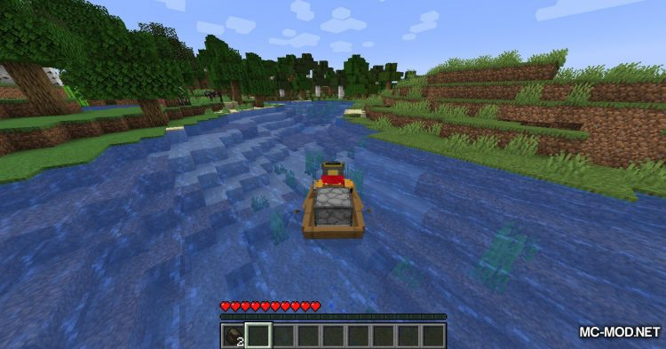 Extra Boats mod for Minecraft (10)