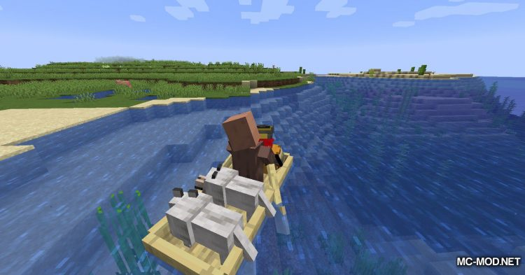 Extra Boats mod for Minecraft (13)