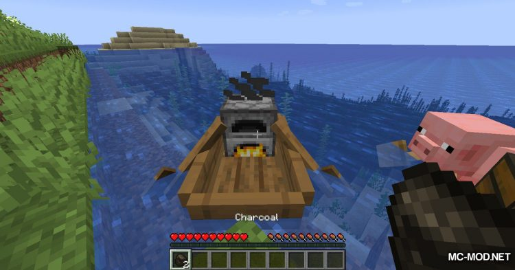 Extra Boats mod for Minecraft (9)