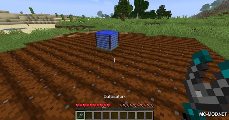 Gardening Tools mod for Minecraft (11)