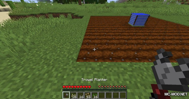 Gardening Tools mod for Minecraft (12)