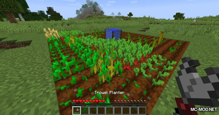 Gardening Tools mod for Minecraft (15)