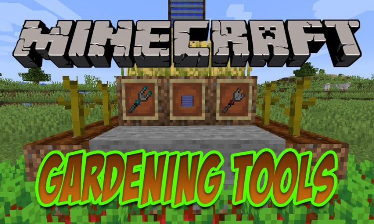 Gardening Tools mod for Minecraft logo