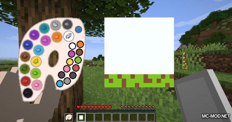 Joy of Painting mod for Minecraft (5)