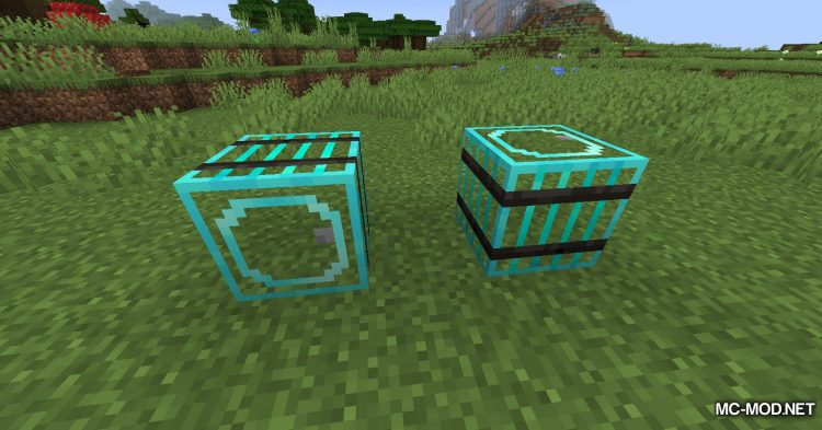 Metal Barrels mod for Minecraft (10)