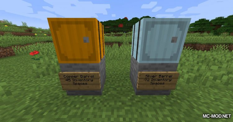 Metal Barrels mod for Minecraft (13)