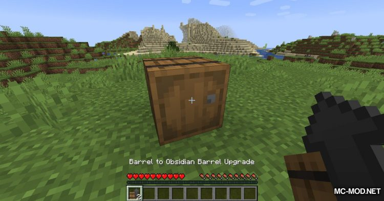 Metal Barrels mod for Minecraft (15)
