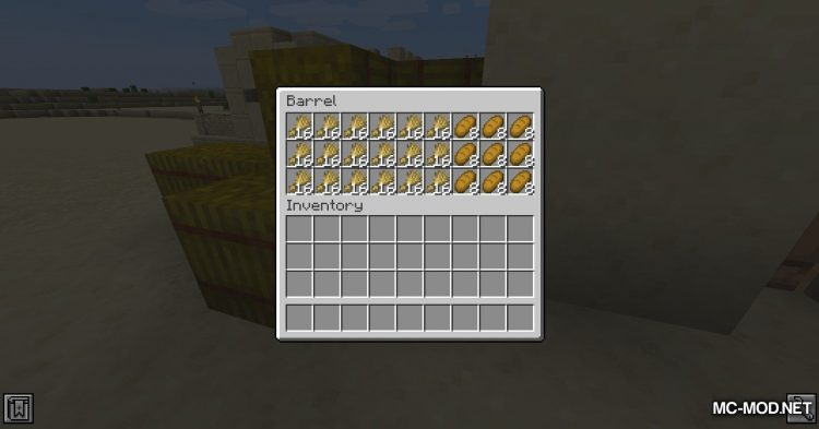 Metal Barrels mod for Minecraft (3)
