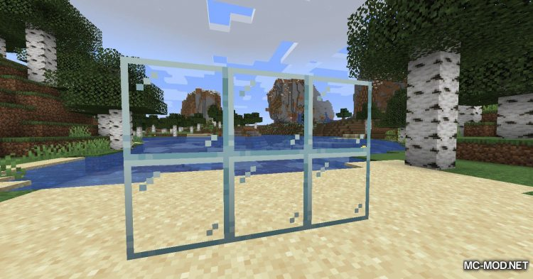 Mo Glass mod for Minecraft (2)