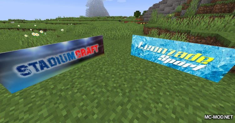 StadiumCraft mod for Minecraft (4)