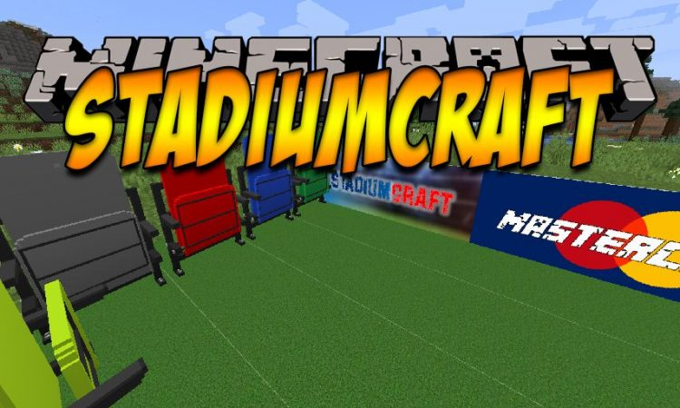 StadiumCraft mod for Minecraft logo