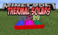 Thermal Solars mod for Minecraft logo
