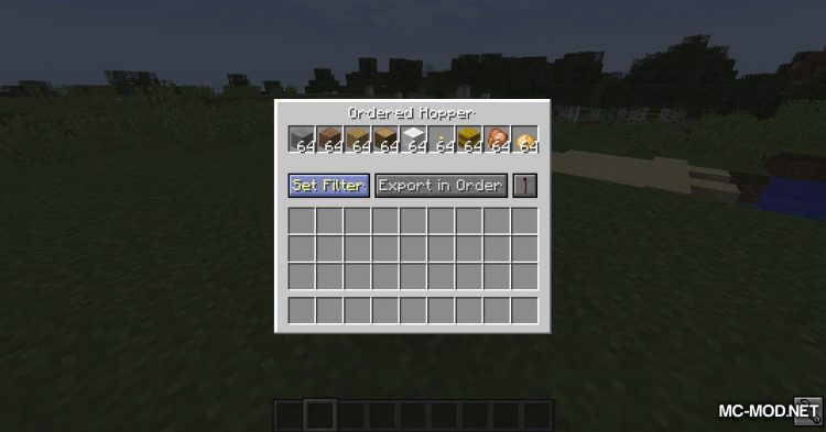 Automation Helpers mod for Minecraft (5)
