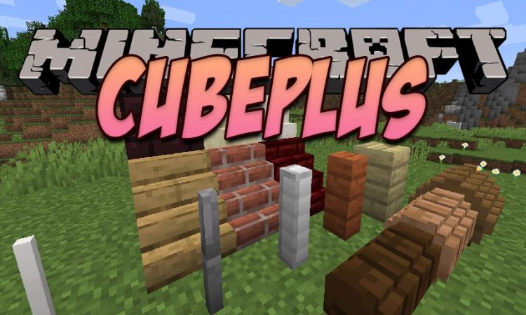 CubePlus mod for Minecraft logo