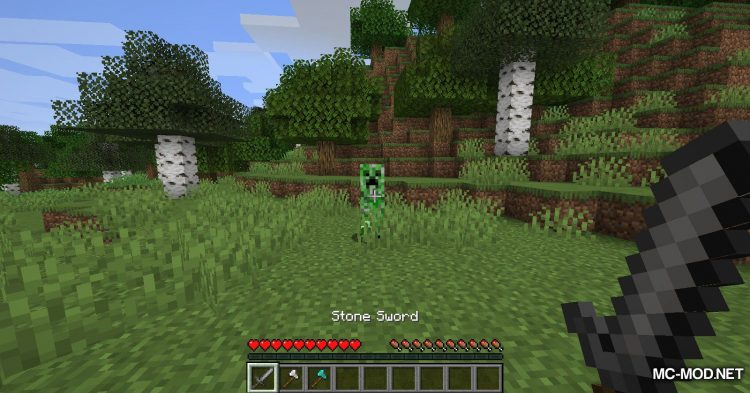 Fast Tool Switching mod for Minecraft (4)