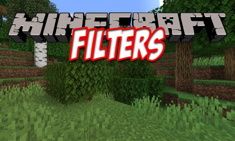 Filters mod for Minecraft logo