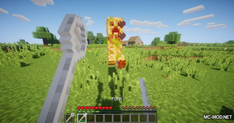 Giant Cutlery mod for Minecraft (12)