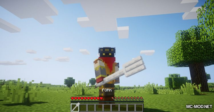 Giant Cutlery mod for Minecraft (5)