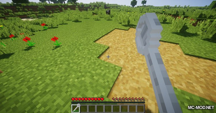 Giant Cutlery mod for Minecraft (6)