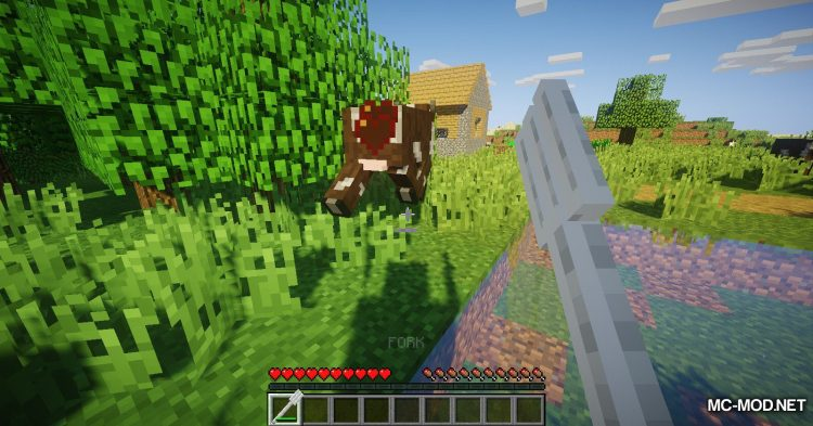 Giant Cutlery mod for Minecraft (8)