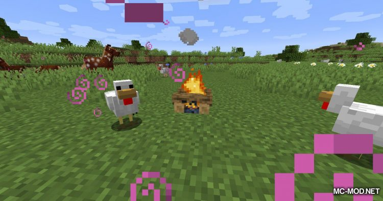 Healing Campfire mod for Minecraft (4)