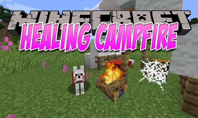 Healing Campfire mod for Minecraft logo