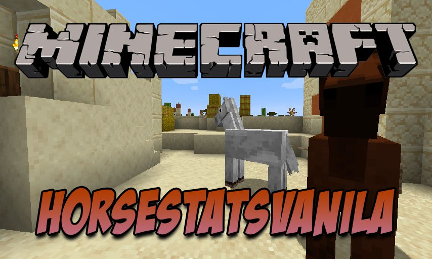 HorseStatsVanilla mod for Minecraft logo