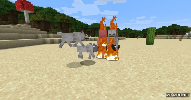 Pet Your Wolf mod for Minecraft (8)