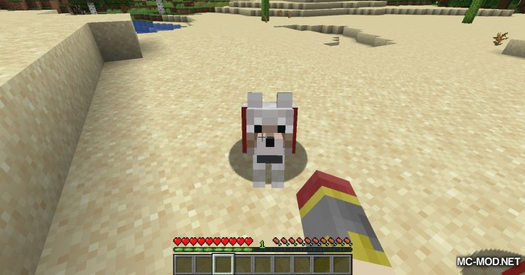 Pet Your Wolf mod for Minecraft (9)