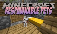 Respawnable Pets mod for Minecraft logo