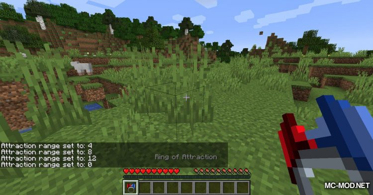 Ring of Attraction mod for Minecraft (5)