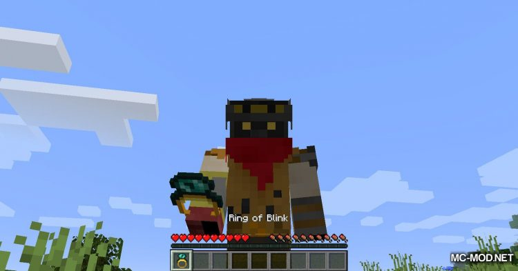Ring of Blink mod for Minecraft (4)