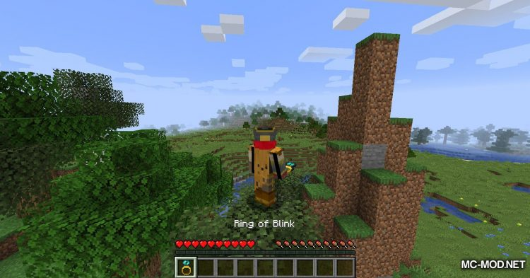Ring of Blink mod for Minecraft (8)