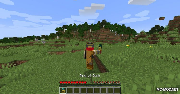 Ring of Blink mod for Minecraft (9)