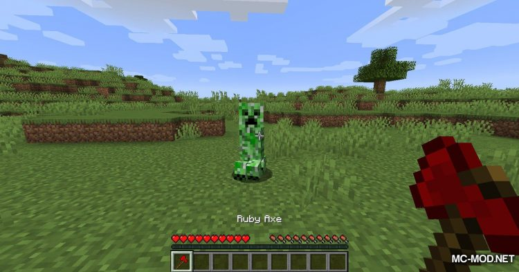 Ruby Armor And Tools mod for Minecraft (11)