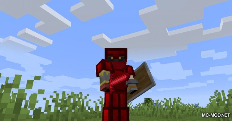 Ruby Armor And Tools mod for Minecraft (7)