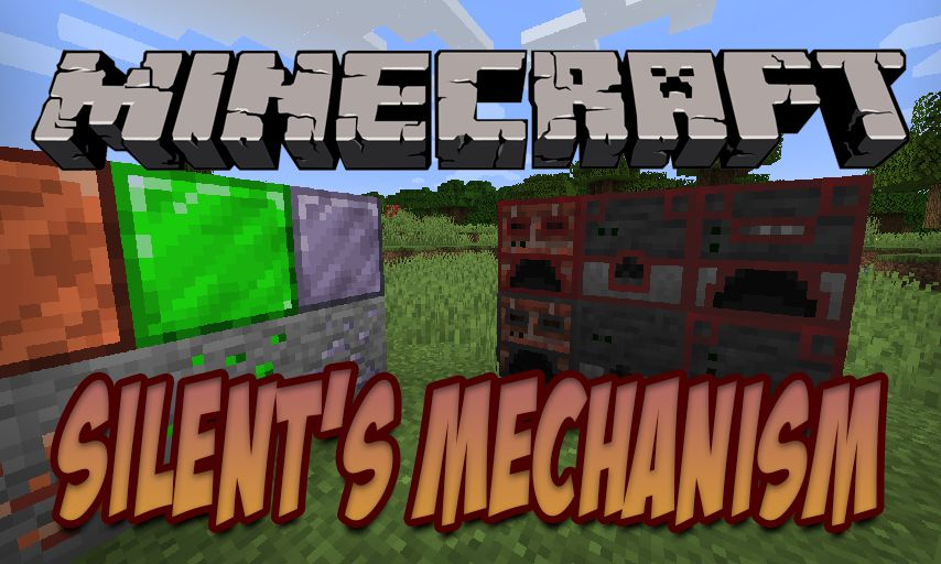 Silent_s Mechanism mod for Minecraft logo