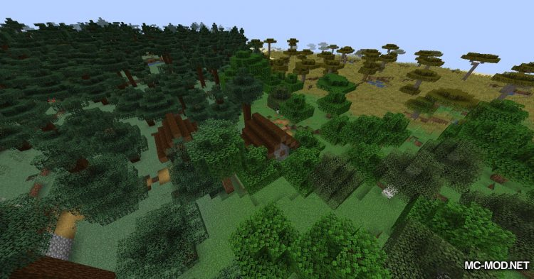 Simplex Terrain Generation mod for Minecraft (11)