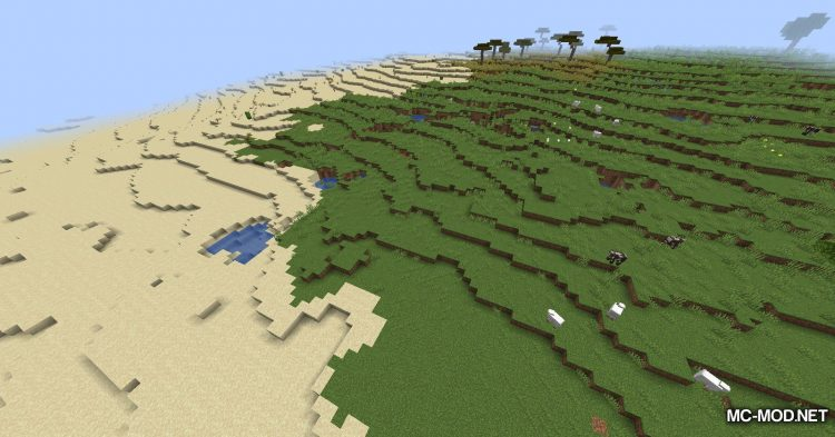 Simplex Terrain Generation mod for Minecraft (13)
